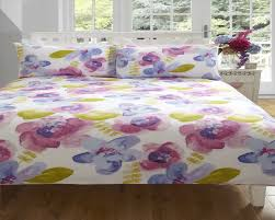 floral duvet cover in double u0026 kingsize flowery bed linen