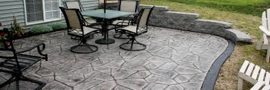 Patio Surfaces by Aaa Masonry Rochester Ny Stamped Concrete Contractor Penfield Ny