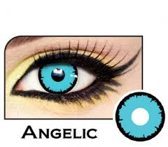 angelic blue costume contacts lensdirect