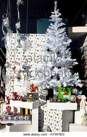 Christmas Decorations Shops In London by Christmas Tree In Shop Window Stock Photos U0026 Christmas Tree In