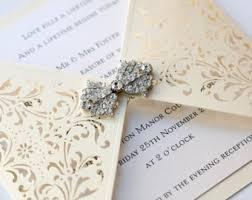 gatefold wedding invitations gatefold invitation etsy