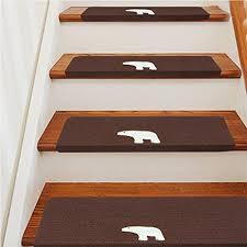 tappeto per scale sundlight tappetini per scale 15pcs 20x70cm tappetini antiscivolo