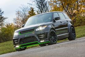 modified range rover official lumma design range rover sport svr gtspirit