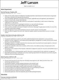 Technical Resume Objective Cover Letter Pharmacy Technician Resume Sample Pharmacy