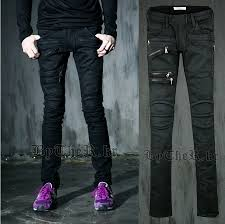 Mens Destroyed Skinny Jeans Billie Jean Fashion Jeans Collection