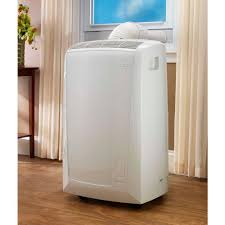 Sq Ft To Ft Delonghi 10 000 Btu 3 Speed Portable Air Conditioner For Up To 350