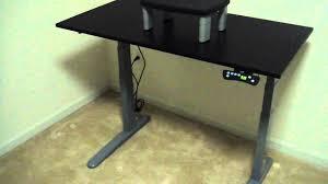 motorized adjule computer desk