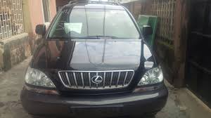 lexus rx300 for sale in nigeria very clean 2003 lexus rx300 for sale autos nigeria