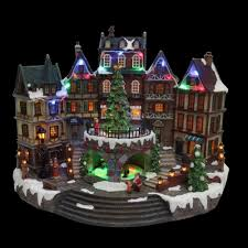 pictures of christmas decorations in homes christmas villages indoor christmas decorations the home depot