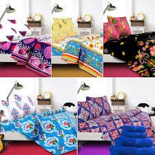 blanc pack 5 double bedsheet set with 5 pcs towel set u0026 free 3