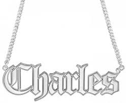customizable jewelry alison mens name necklace 20x58mm customizable