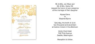 wedding ceremony invitation wording sle wedding invitation wording lilbibby