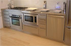 Metal Cabinets Kitchen Metal Kitchen Cabinets Durable And Simple Furniture Amazing Home