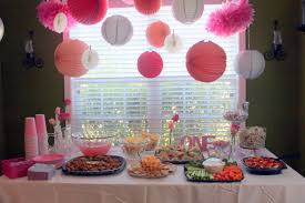 theme party ideas for baby girl decorating of party