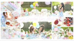 girly garden diy tea party decor treats fashion u0026 essentials