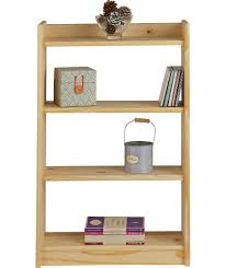 buy home light duty 4 shelf storage unit solid unfinished pine