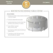 Dining Room Chair Protective Covers Tk Classics Oasis Fairmont Napa Cape Cod Venice Laguna 60 Inch