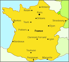Orleans France Map by France The Lancet