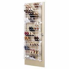 oypla 36 pair over the door hanging shelf shoe rack storage stand