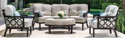 Curved Patio Sofa by Northern Virginia Aluminum Outdoor Furniture Washington Dc