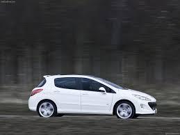 peugeot hatchback models peugeot 308 gti 2011 pictures information u0026 specs