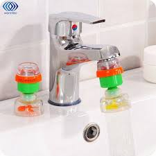 kitchen tap water filter faucet water purifier rotatable plastic