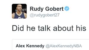 brooklyn hairline rudy gobert called out trevor booker for bad hairline on twitter