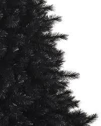 unlit christmas trees pitch black artificial christmas pine trees treetopia