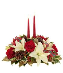 Centerpieces For Christmas by Christmas Centerpieces Christmas Flower Centerpieces