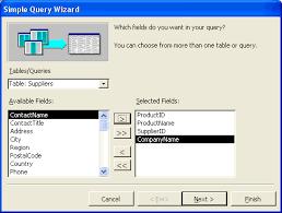 membuat query tabel ilmu software membuat query di access dengan wizard