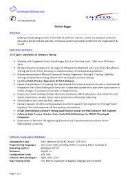 software testing cv shirish nagar