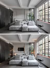 Industrial Interior Design Bedroom by This Apartment U0027s Industrial Interior Was Inspired By The Old