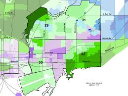 2014 Election Map by Mapping The Election Toronto U0027s East End Wards 29 30 31 And 32