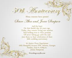 invitation greetings beautiful 50th wedding anniversary invitation wording ideas