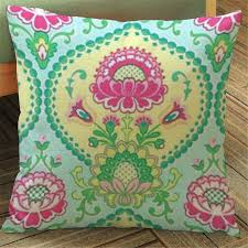 plant floral ethnic cushion cover vintage home decor tropical