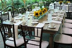 table and chair rentals detroit mi banquet and farm table rentals in detroit affairs to remember