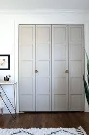 How To Hang A Closet Door Replacing Closet Doors Styledbyjames Co