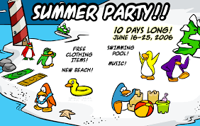 summer party club penguin wiki fandom powered by wikia