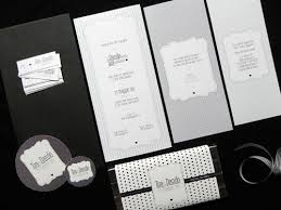 Black And White Wedding Invitations What The Guests Are Saying About Black And White Wedding