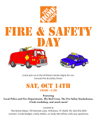 home depot fire and safety day star 92 9