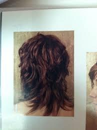 hair with shag back view wavy shag haircut back view hairstyles pinterest haircuts