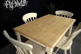farmhouse table with corkscrew legs 4 new beech farmhouse chairs
