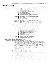 Networking Administrator Resume System Administrator Resume Sample V Mware Active Directory