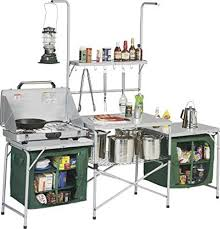Folding Camping Kitchen With Storage Units Camping Kitchen - Camping kitchen with sink