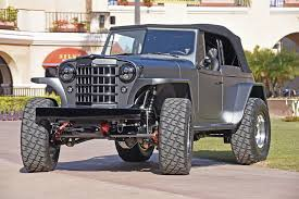 custom willys jeep 1950 willys jeepster offroad 4x4 custom truck jeep suv rod