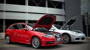 porsche electric hybrid audi porsche team up to develop future electric self driving