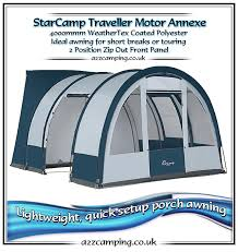 Motorhome Porch Awning Dorema Star Camp Traveller Lightweight Motorhome Awning Traveller