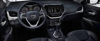 grey jeep grand cherokee interior 2018 jeep cherokee compact suv ready for adventure