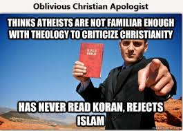 Atheist Vs Christian Meme - debunking christianity a new meme the oblivious christian apologist