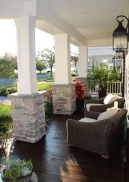 craftsman square columns on home remodel project architectural depot